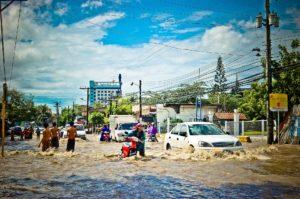 Oversvømmelse ukendt sted i Asien