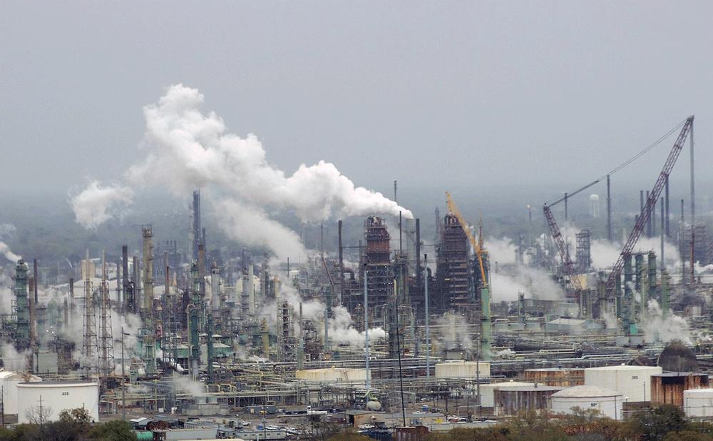 Forurening og udledninger i storby
